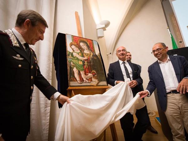 Pinturicchio. Madonna col Bambino, Galleria Nazionale dell'Umbria, Perugia