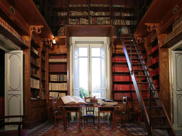 Ernesto Basile, Biblioteca di Palazzo Francavilla, Palermo