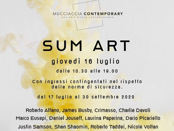 Sum Art, Mucciaccia Contemporary, Roma