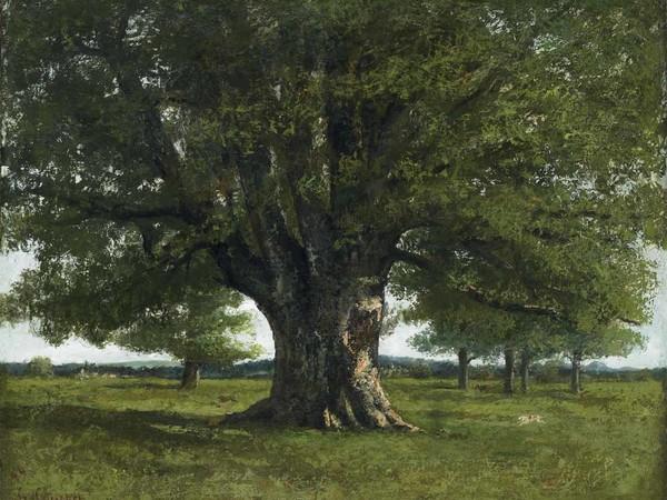 Gustave Courbet, La quercia di Flagey, 1864. Ornans, Musée Gustave Courbet Ornans