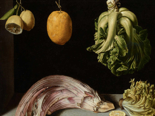 Juan Sánchez Cotán (1560 - 1627), <em>Bodegón de frutas, verduras y hortalizas</em>, 1602, Private collection