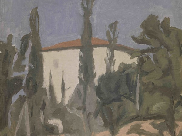 Giorgio Morandi, Paesaggio, olio su tela, 1941. Collezione privata Firenze