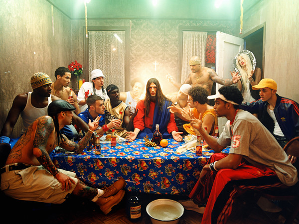 David LaChapelle, <em>The Last Supper</em>, 2003