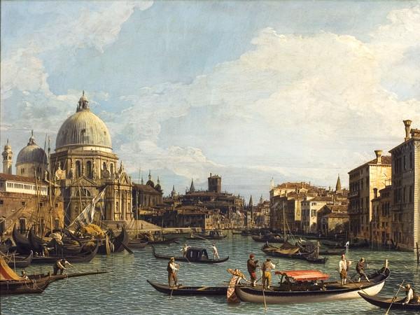 Canaletto, La chiesa della Salute, olio su tela, 53 x 70 cm. Milano, Villa Necchi Campiglio, collezione FAI