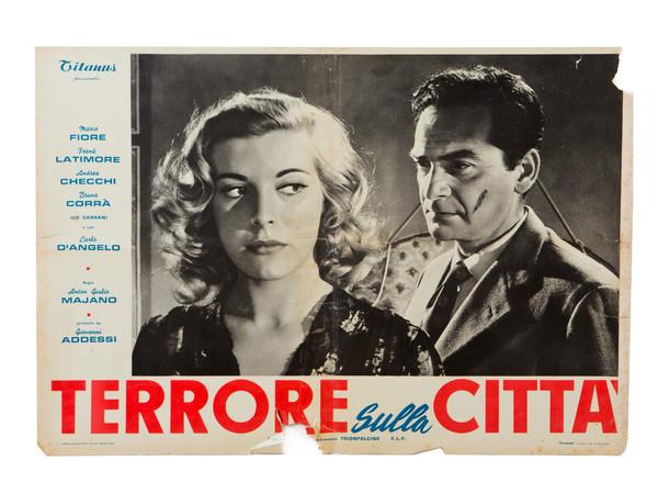 """Manifesto del film """"Terrore sulla città"""""""
