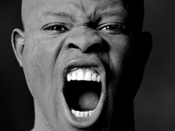 Greg Gorman, Djimon Hounsou, 1991