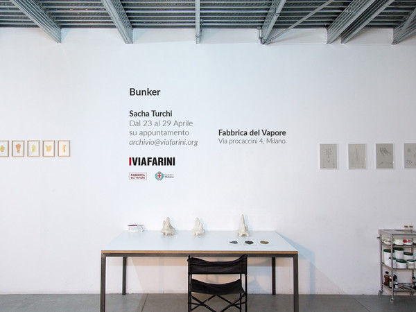 Bunker - Sacha Turchi, Viafarini - Fabbrica del Vapore, Milano