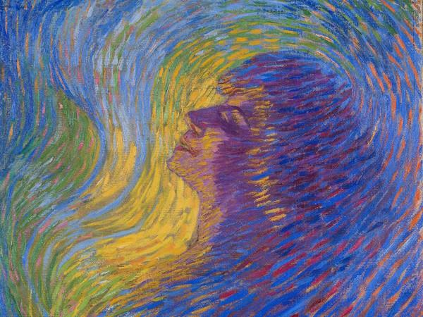 Luigi Russolo, <em>Profumo</em>, 1910, olio su tela, 65.5 x 67.5 cm, Mart, Museo di arte moderna e contemporanea di Trento e Rovereto, Collezione VAF - Stiftung&nbsp; <div class=&quot;page&quot; title=&quot;Page 4&quot;>&nbsp;</div>