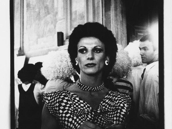 Giordano Bonora, L'incontro n.7, Bologna 1980. Stampa fotografica in bianco e nero
