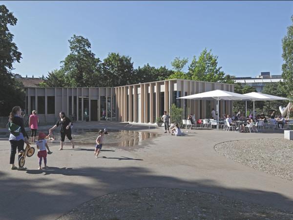 Burckhardt+Partner, Pavillon St. Johanns-Park Basel, 2012