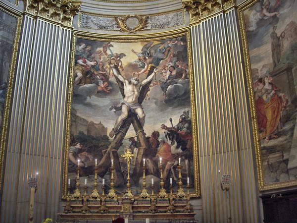 Crocifissione, Martirio e Sepoltura Sant'Andrea