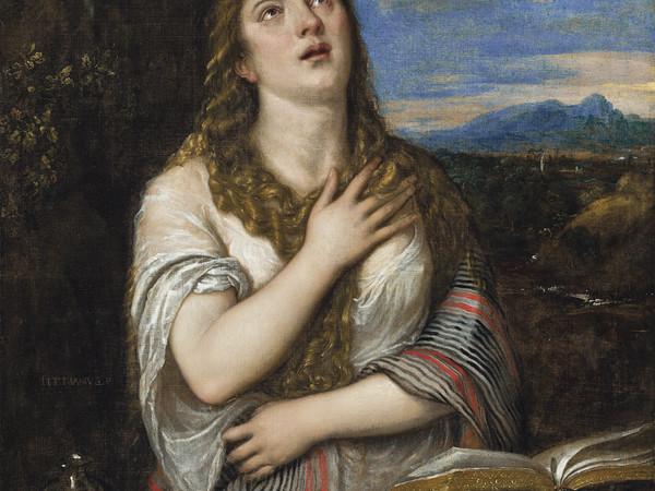 Tiziano Vecellio, Maddalena penitente. Collezione privata