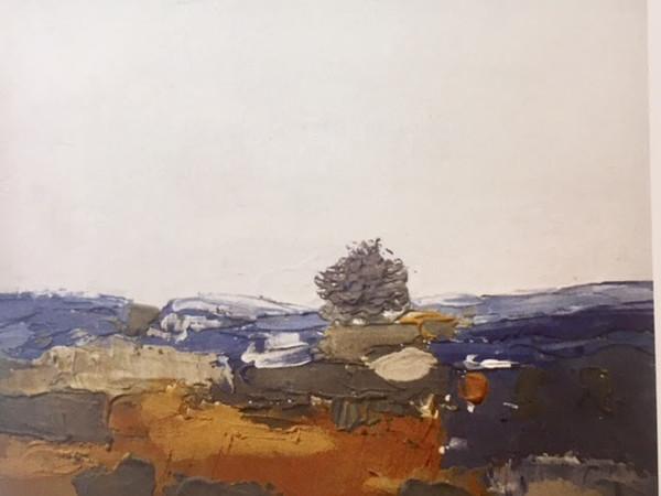 Silvia Leveroni Calvi, Il mio ulivo, 2018 gesso, stucco, pigmenti minerali, 40x30 cm.