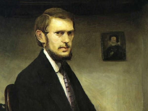 "<em>Un autoritratto di Miroslav Kraljevi<span class=""st"">ič</span>, modernista croato</em>, Ca' Pesaro, Venezia"