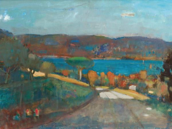 Vittorio Carradore, Verso il lago
