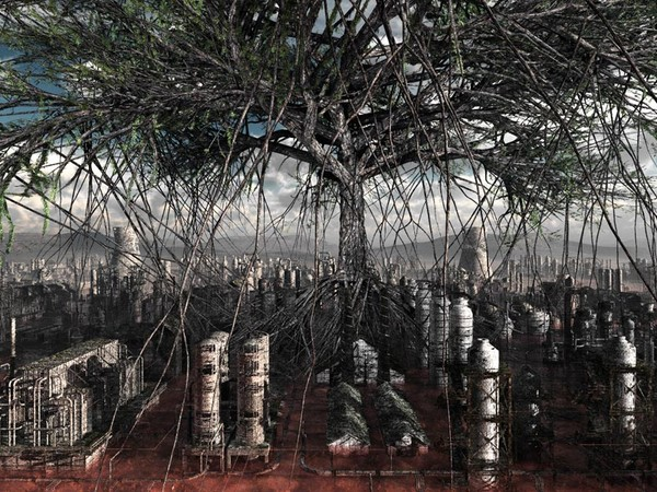 Giacomo Costa, Plant 11, C-print su aluminium, 100 x 200 cm., 2015