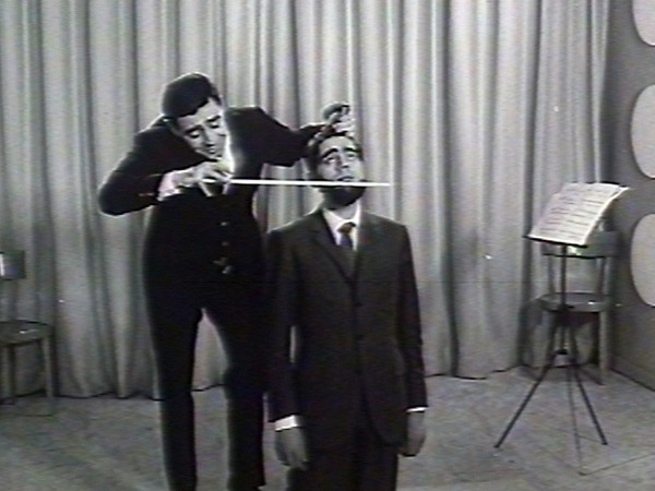 Armando Testa, Saiwa, Ritz, 1967, frame da film. Collezione Gemma De Angelis Testa