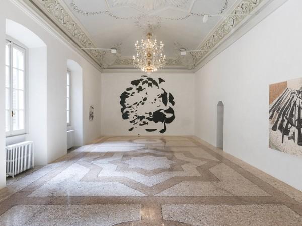 Nate Lowman. Elliptical Machine Gun, Galleria Massimo De Carlo, Milano