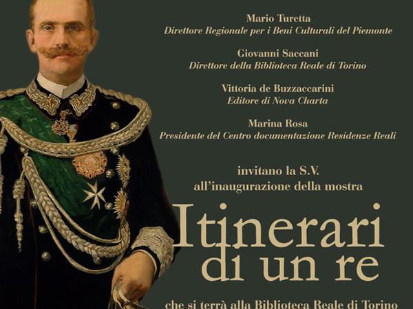 Itinerari di un re, Biblioteca Nazionale Reale, Torino