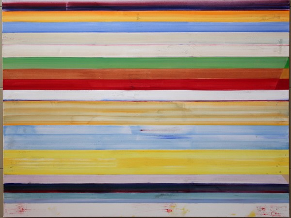 Ildefons Höyng, Senza Titolo, 120x150 cm, acrilico su tela, 2014