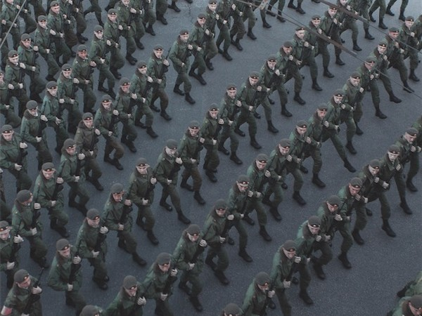 Karim El Maktafi, Soldati marciano in preparazione della parata