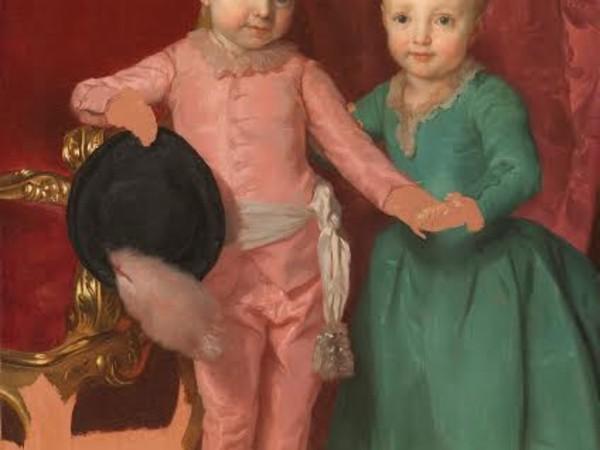 Anton Raphael Mengs, Ritratto degli arciduchi Ferdinando e Maria Anna, 1771-1774, Firenze, Gallerie degli Uffizi, Galleria Palatina