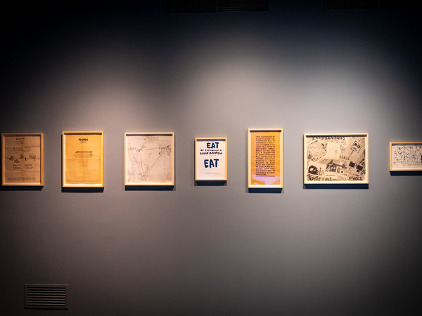 Allan Kaprow. I will always be a painter – of sorts. Drawings, Paintings, Happenings, Environments, Museo Novecento, Firenze