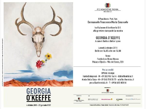 Georgia O'Keeffe - locandina