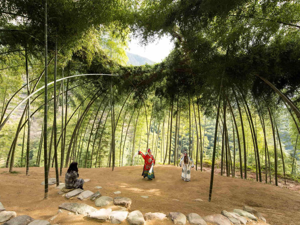 Xu Tiantian - DnA Design and Architecture Bamboo Theatre, Songyang (Cina), 2015 I Ph. Ziling Wang