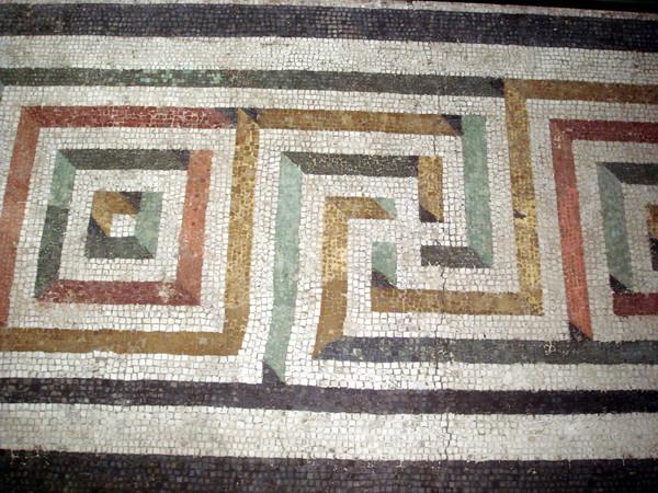 Pavimenti musivi dal II al IV secolo