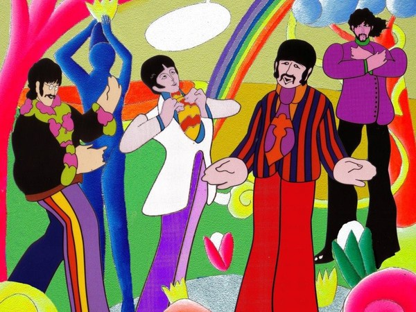 The Beatles by Giancarlo Montuschi