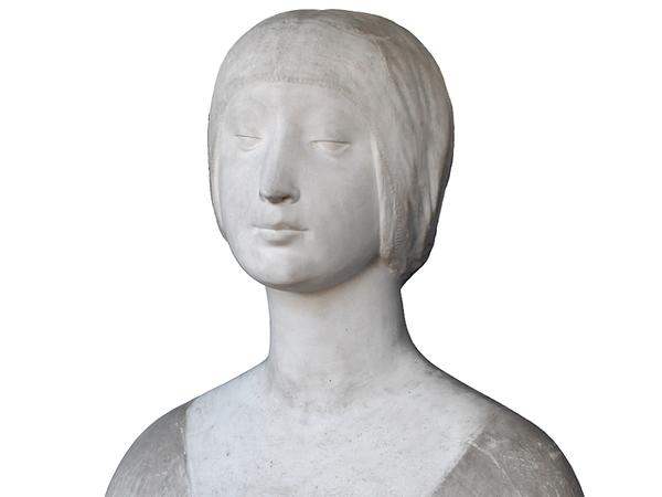 "Ignoto, Secolo XX (ante 1901), da Francesco Laurana, Busto di Gentildonna, Gesso, 43 x 24 x 52 cm, Museo Regionale Archeologico ""Antonino Salinas"", Palermo"