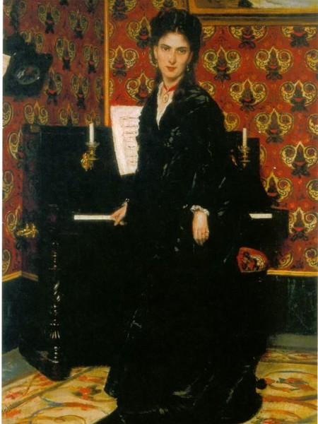 Giovanni Boldini, Ritratto di Mary Donegani, 1869