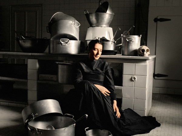 Marina Abramovic, The Kitchen IV: Homage to Saint Therese, 2009 (detail). Colour, Chromogenic Print, 136 x 126 cm (53 1/2 x 49 3/4 in)