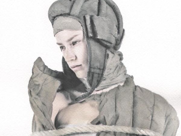 Alexey Moroso, Vatnique, tempera e inchiostro su carta