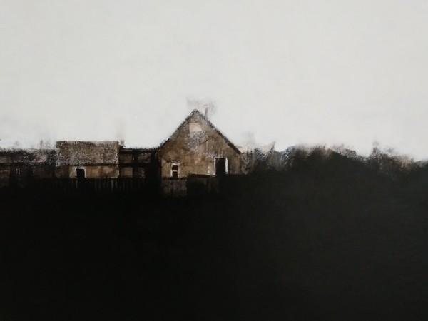 Francesco Nicolato, <em>Ai margini della notte</em>, 2019, Acrilico su tela, 50 x 70 cm | Courtesy of Francesco Nicolato<br />