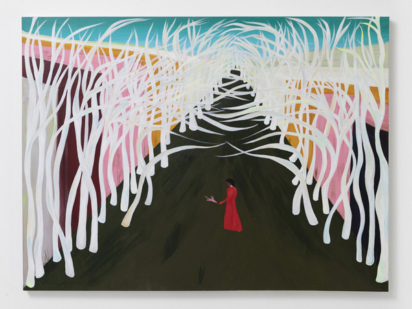 Delphine Desane, Promised Land, 2020, acrylic on canvas, 91.4x121.9 cm. I Photo Andrea Ferrari