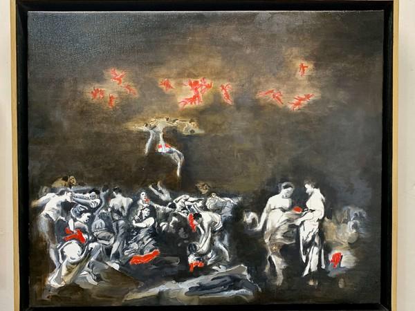 Gabriele Colletto, Untitled, 2020, olio su lino, cm. 50x60