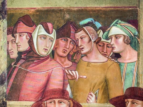 Ambrogio Lorenzetti, <em>Professione pubblica di San Ludovico di Tolosa (Particolare)</em>, 1334-1340, Affresco staccato Siena, Basilica di San Francesco