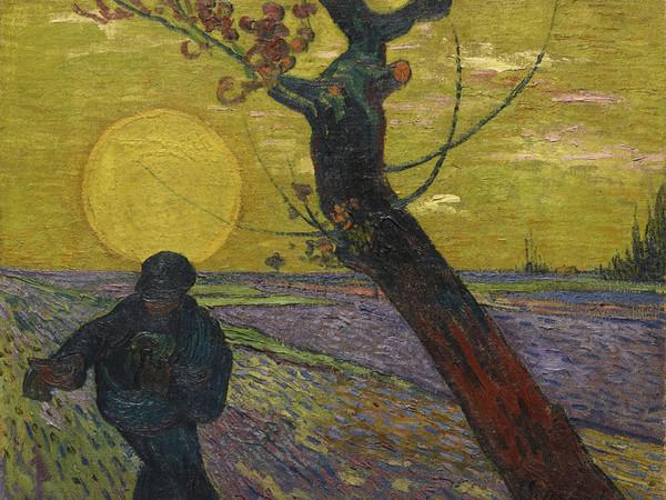 Vincent Van Gogh, Le Semeur au soleil couchant, 1888, Olio su tela 73 x 92 cm, Collezione Emil Bührle