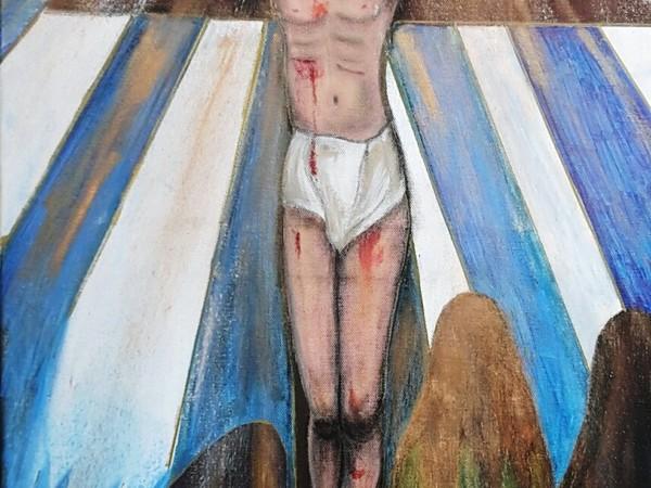 Anna De Rosa, Cristo in Croce (part.)