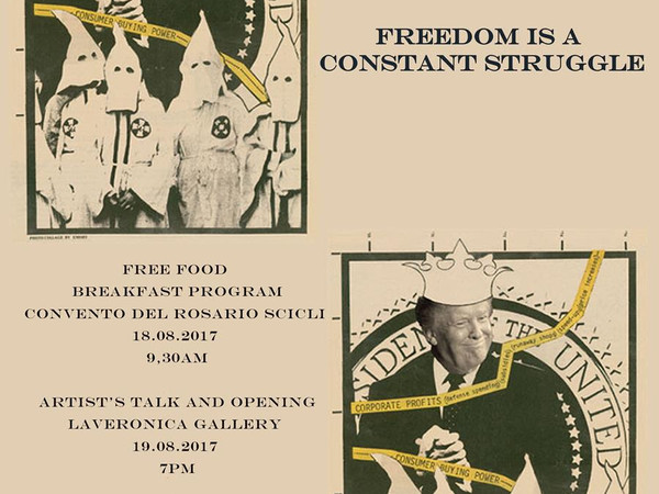 Emory Douglas. Freedom Is A Constant Struggle