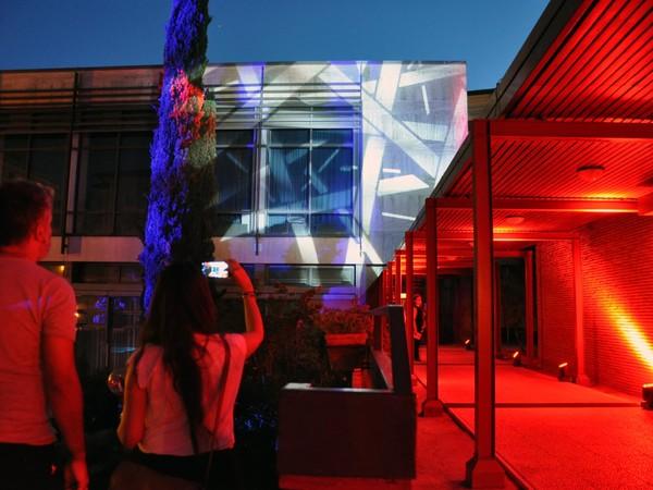 Installazione al Goethe-Institut Rom