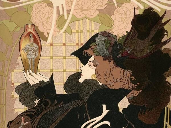 Georges de Feure, Affiche puor Le Journal des ventes, 1898