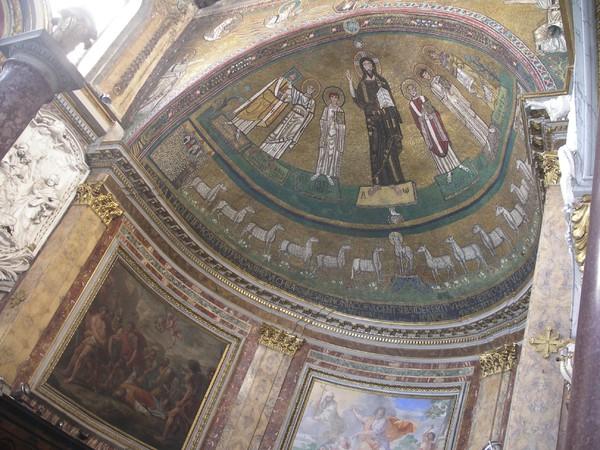 Mosaico di Gregorio IV