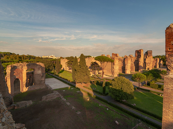 Caracalla Sunset, Terme di Caracalla, Roma