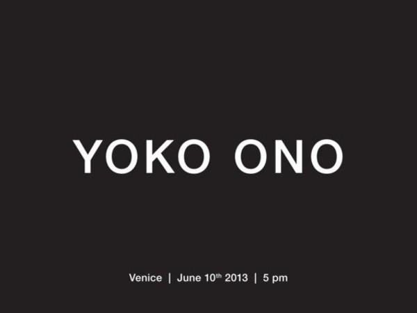 Yoko Ono, Palazzo Badoer, Venezia