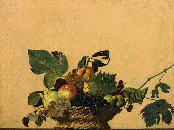 Michelangelo Merisi detto il Caravaggio, <em>Canestra di frutta</em>, 1595 circa, Olio su tela, Milano, Veneranda Biblioteca Ambrosiana, Pinacoteca
