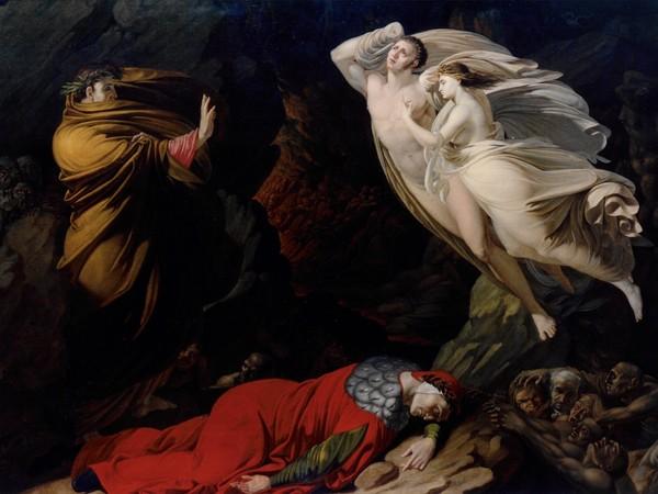 Nicola Monti, <em>Francesca all'inferno</em>, 1810