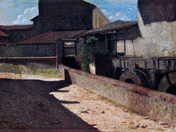 Giuseppe Pellizza da Volpedo, Vecchio Mulino, 1903, olio su tela, cm 44,5x64